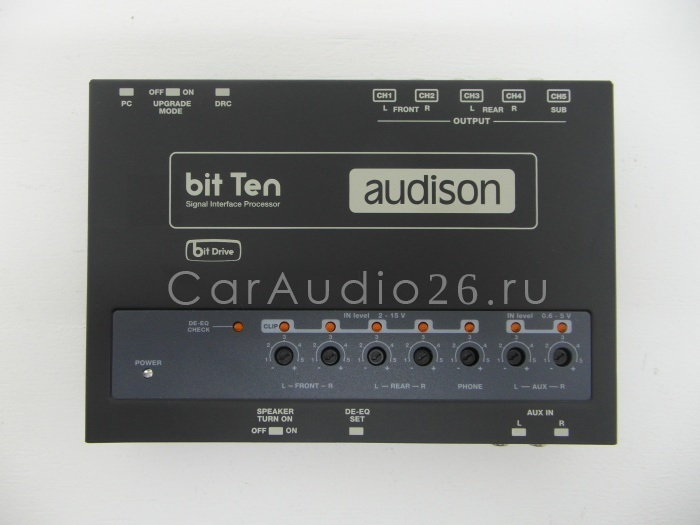 audison bit ten процессор