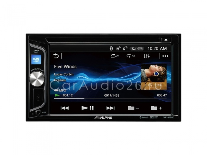 alpine ive-w560bt-r 2din гу